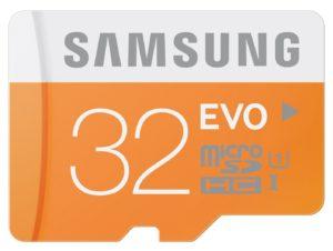 samsung evo 32 GB