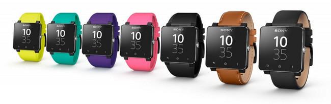 Diferentes estilos para las correas de nuestro sony smartwatch 2