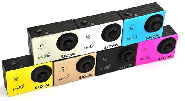sjcam sj4000 wifi colores
