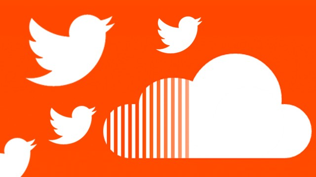 twitter audio soundcloud