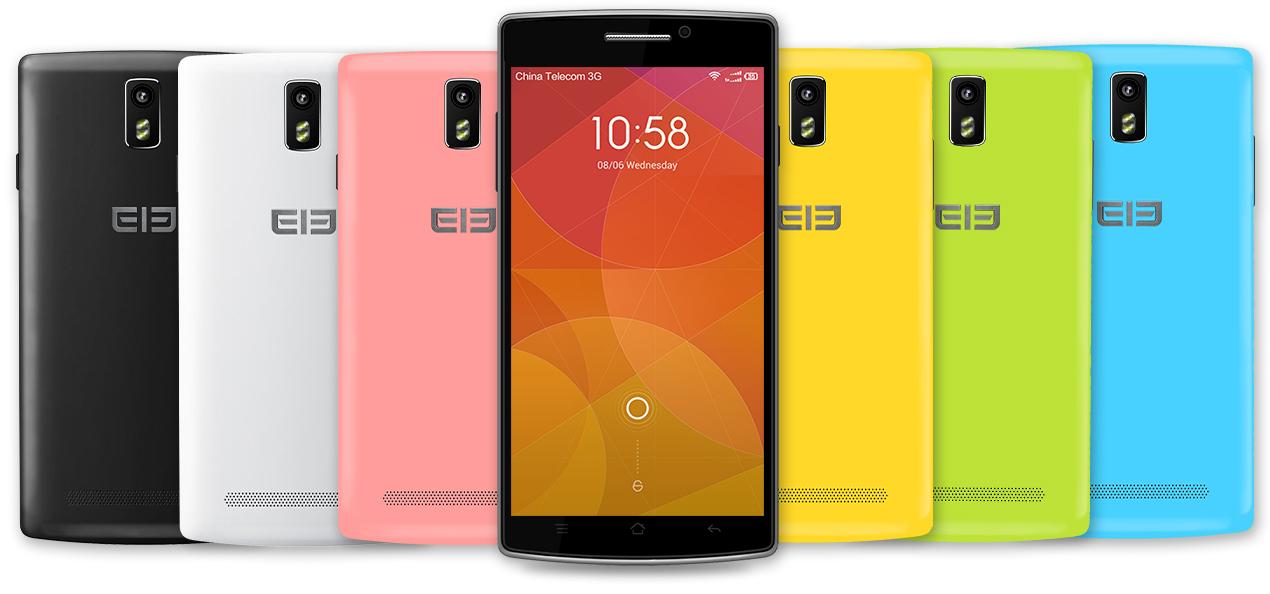El elephone G5 está disponible en diferentes colores.