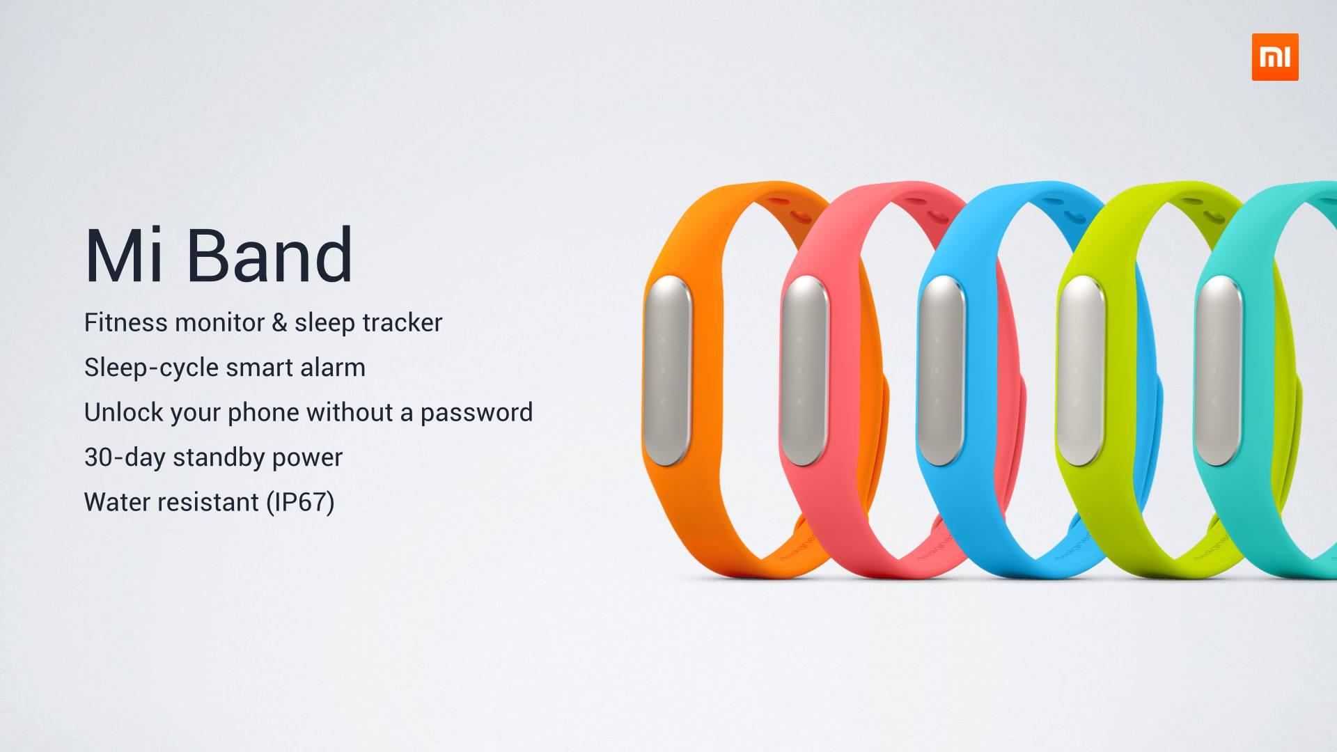 Xiaomi Mi Band Analizamos La Pulsera De Xiaomi