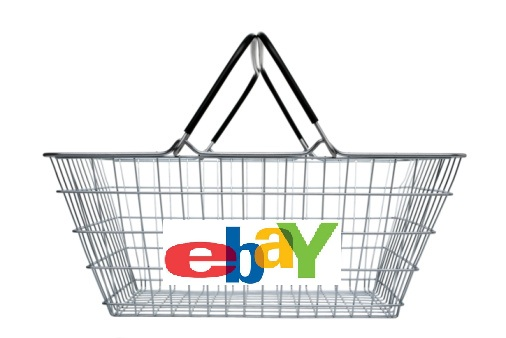 Side view of steel wire shopping basket on white background, cut out