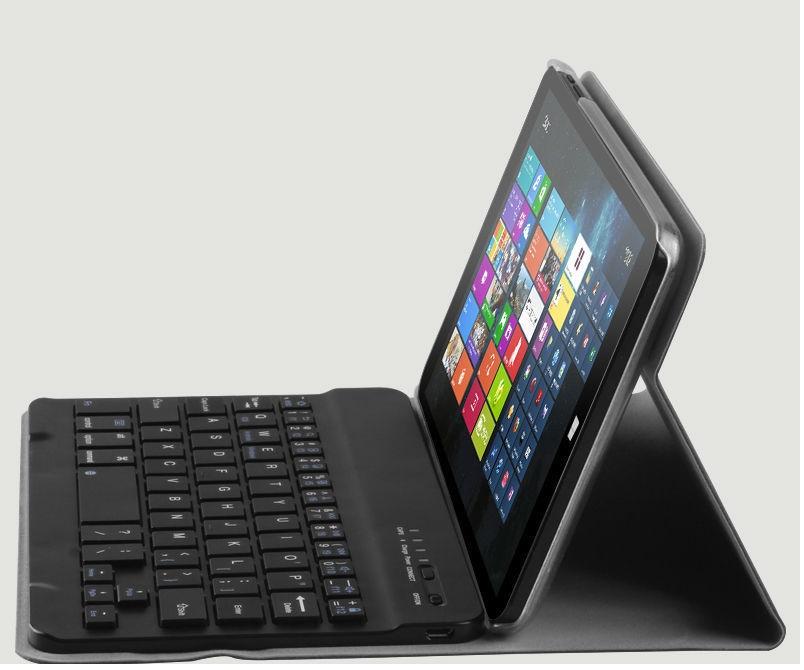 La Chuwi VI8 dispone de útiles accesorios como este teclado bluetooth
