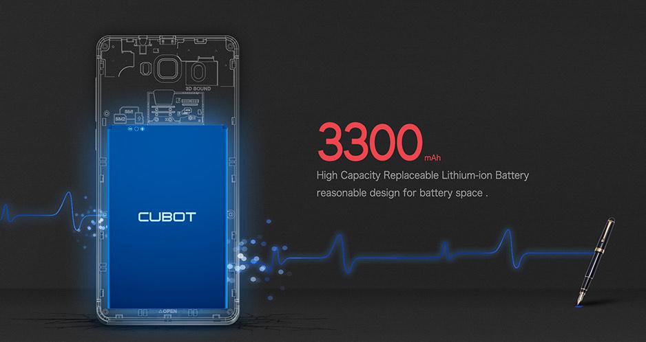Cubot S200.bateria.gizlogic