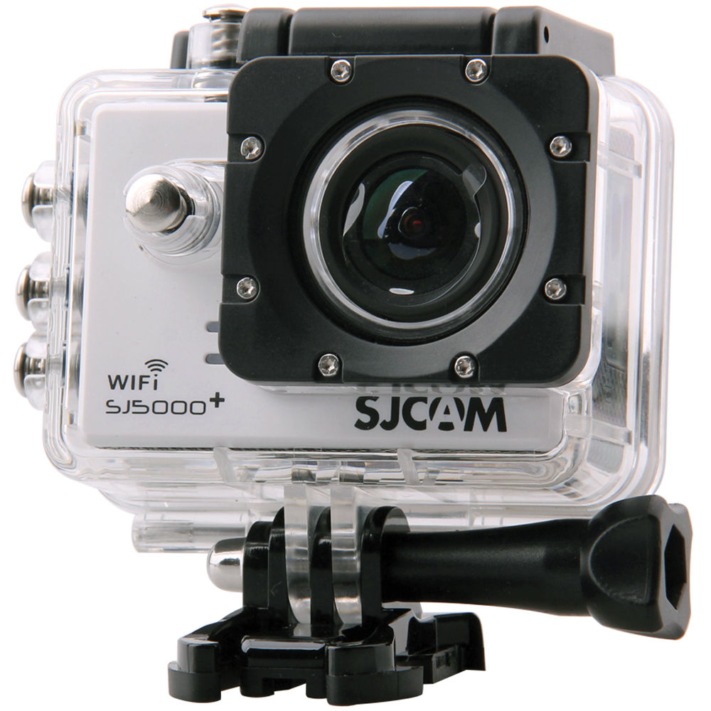 SJCAM SJ5000 + Blanca con carcasa estanca