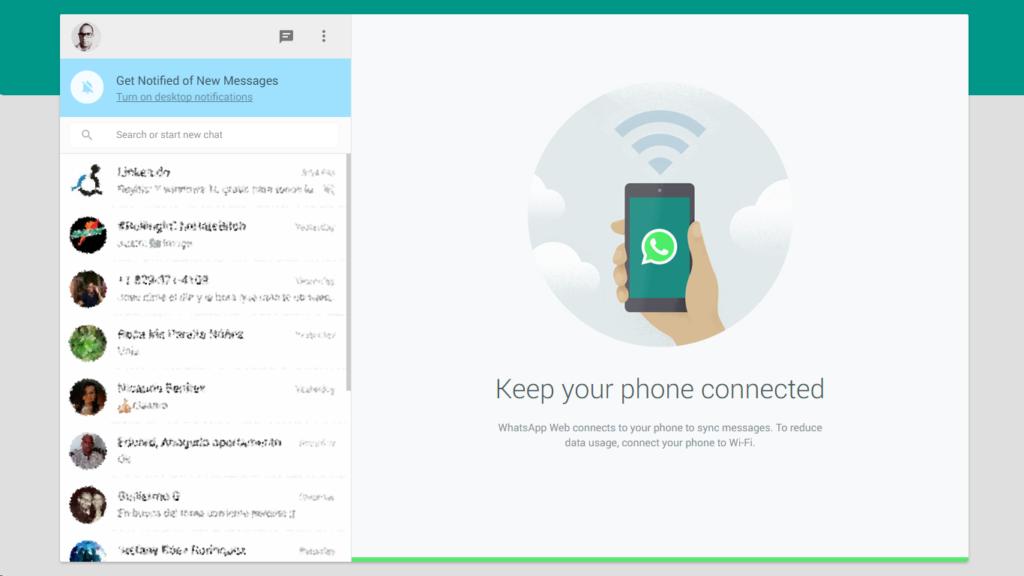WhatsApp Web 3