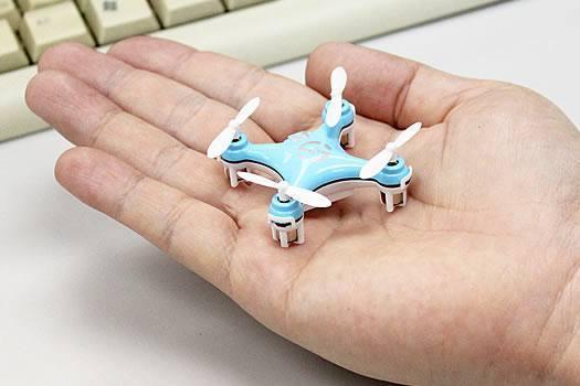 Cheerson CX-10 cabe en la palma de tu mano