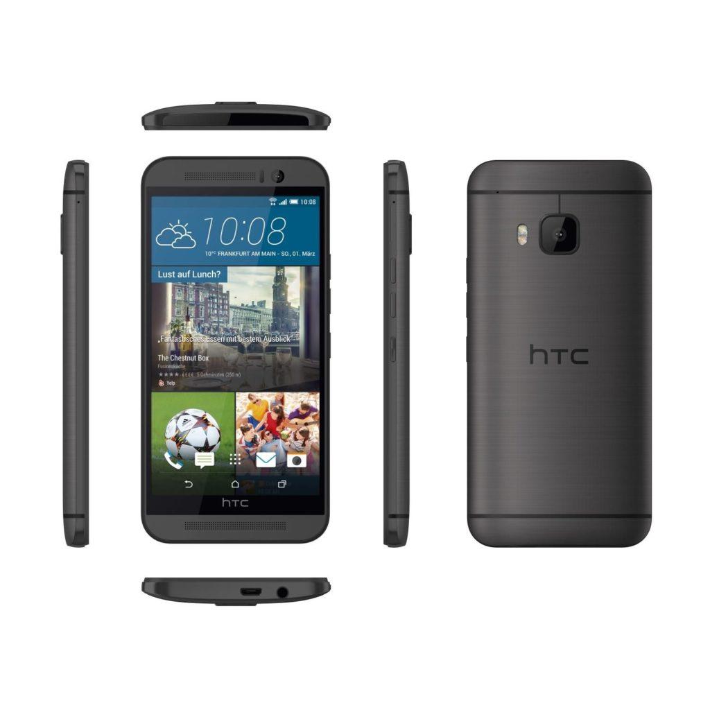 Estéticamente, el HTC One M9 nos recuerda bastante al HTC One M8