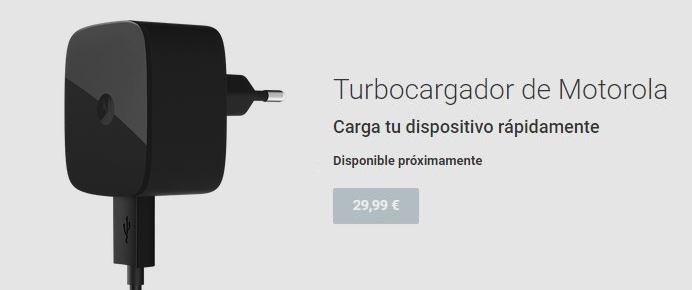 El nuevo turbocargador de Motorola costará 29,99€
