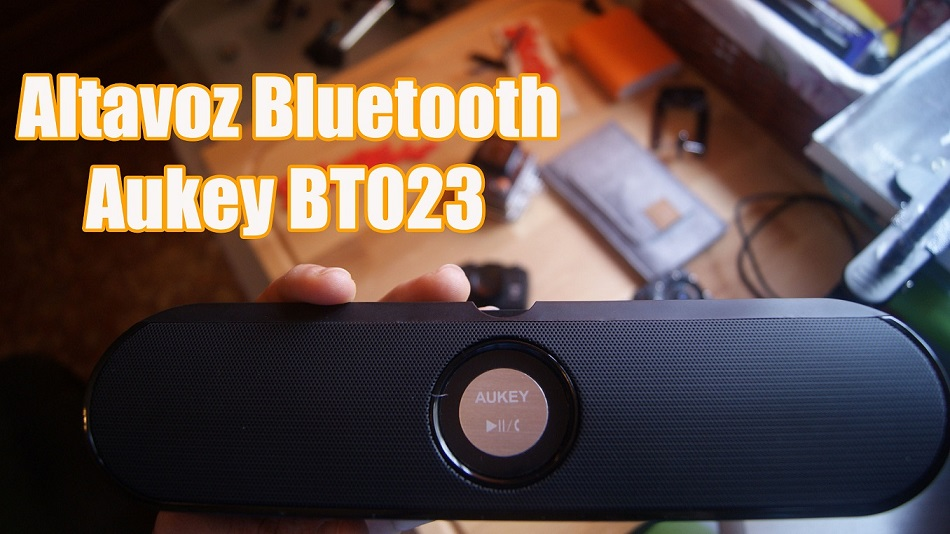 Altavoz Bluetooth Aukey BT023