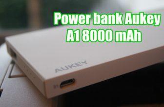 Power bank Aukey A1 8000 mAh
