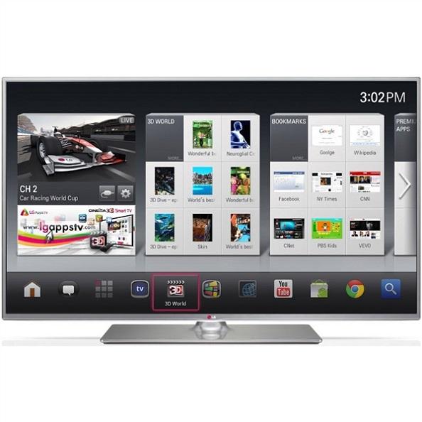 Televisores baratos TV LG 42LB650v