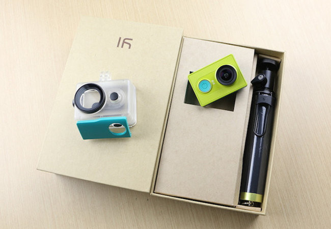 La Yi Action Camera de Xiaomi está disponible en varios colores