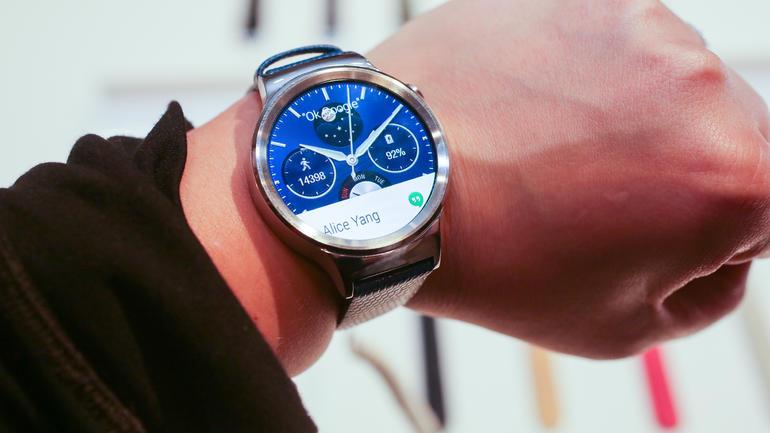 Huawei Watch se presenta como un elegante smartwatch circular