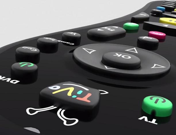 Podemos configurar el mando de TiVo para utilizarlo como único mando tanto para controlar la televisión como el descodificador