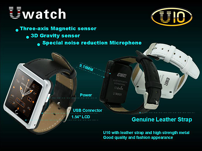 Gizlogic_Smartwatch u10-materiales2
