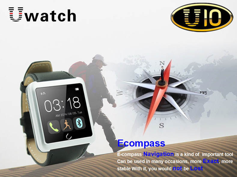 Gizlogic_brújula_u10watch-smartwatch