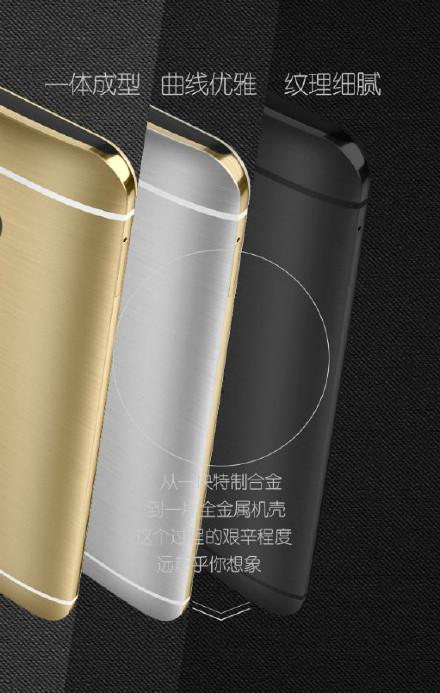 HTC One M9 Plus llega disponible en tres combinaciones de colores