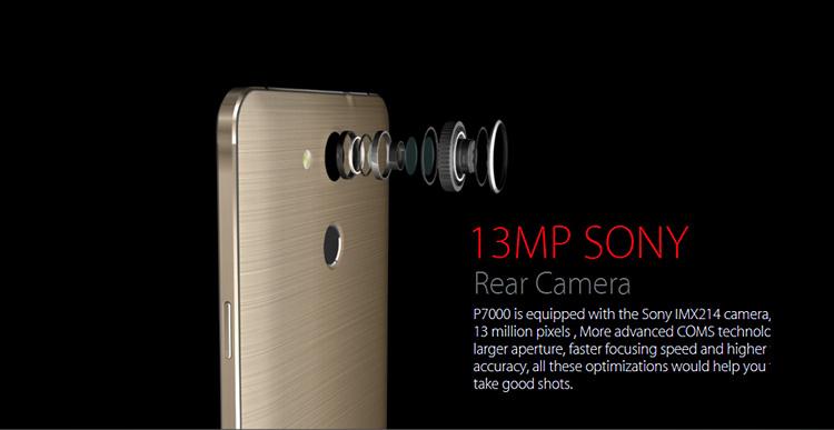Sony ha puesto la lente en este Elephone P7000