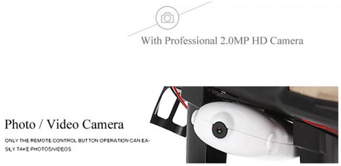 Detalle de la cámara de 2MP del JJRD HD9