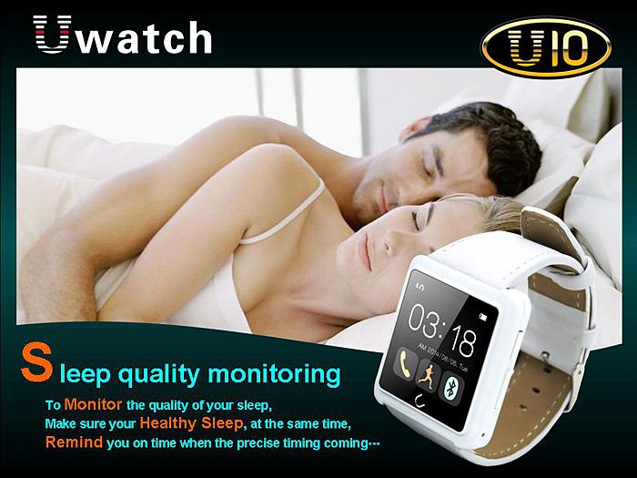 gizlogic_smartwatch u10_sueño