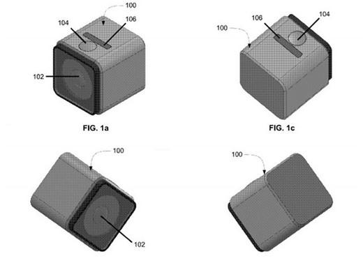 GoPro ha patentado este nuevo diseño cúbico