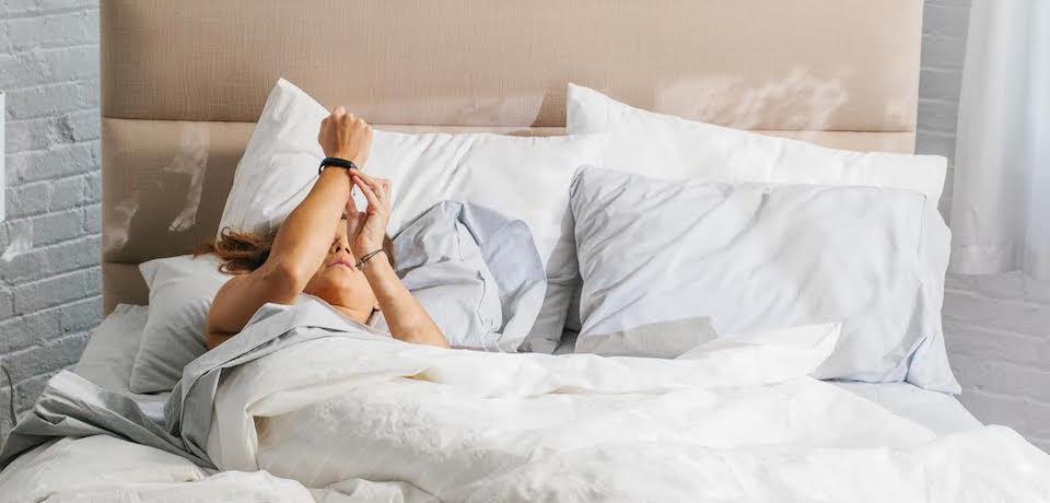 Entre las smartband, es muy popular la monitorización del sueño
