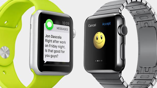 La versión de Line para el Apple Watch también permitirá el uso de iconos