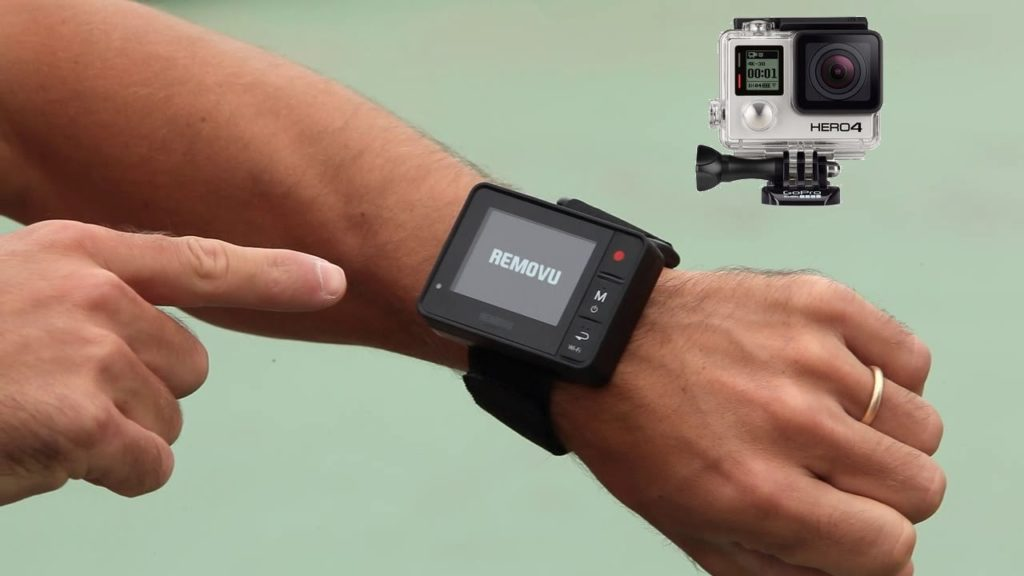 El control remoto Removu R1 se sincroniza con la GoPro para sacarle el máximo partido a tu cámara deportiva