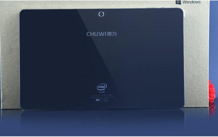 La mejoría en calidad de materiales en la Chuwi Vi10 es evidente respecto del modelo anterior, ya que ahora disponemos de acabados en metal y cristal.