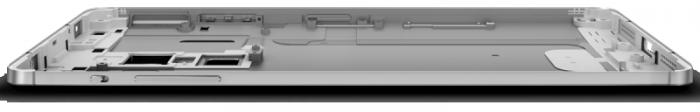 El LeTv One Max está fabricado en aluminio.