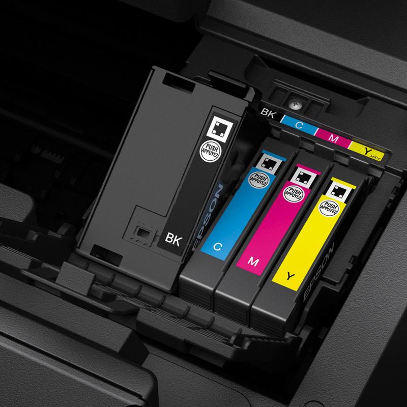 La tinta de esta impresora A3 nos promete durabilidad y resistencia