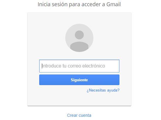 Gmail muestra un cambio de interfaz para el acceso al correo