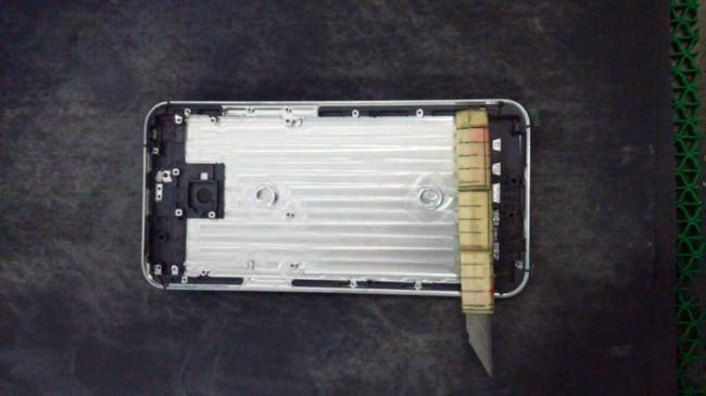 Cubierta trasera del Meizu MX5.