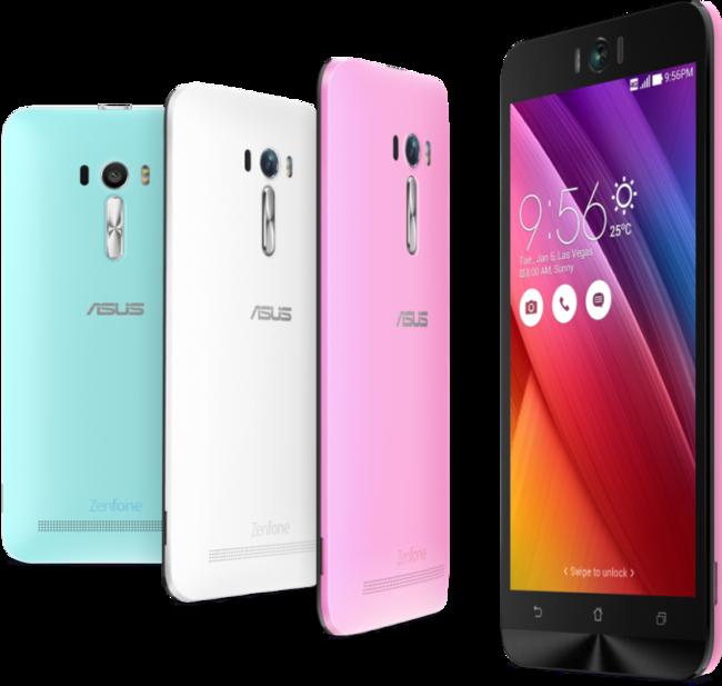 El nuevo Asus Zenfone Selfie está orientado al pública más joven y viene disponible en varios colores
