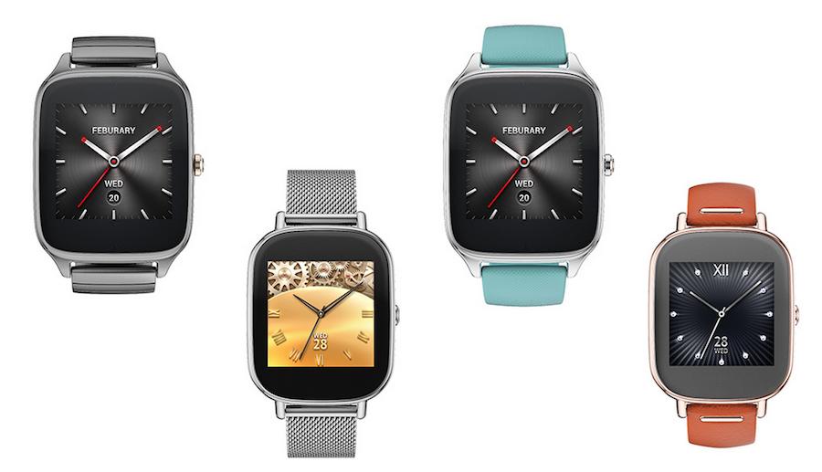 Diferentes colores y acabados para el Asus Zenwatch 2