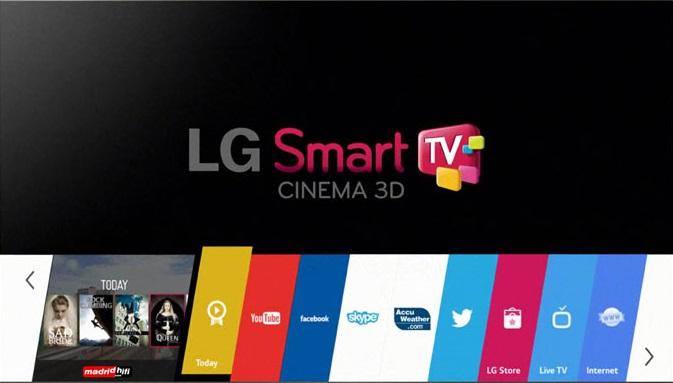 Smart TV y 3D, dos interesantes funciones de la LG 42LF652V