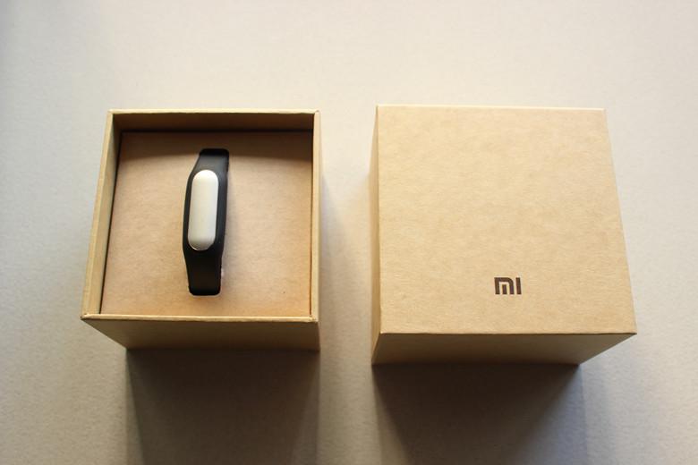 Packaging de la Xiaomi Mi Band