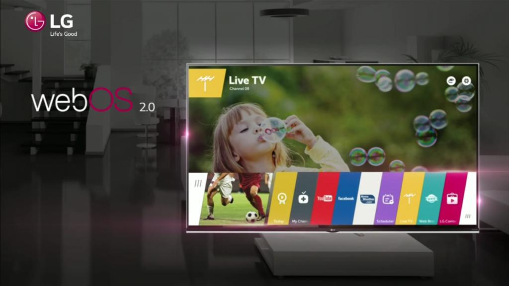La Smart TV LG 42LF652V trae incorporado WebOS 2.0
