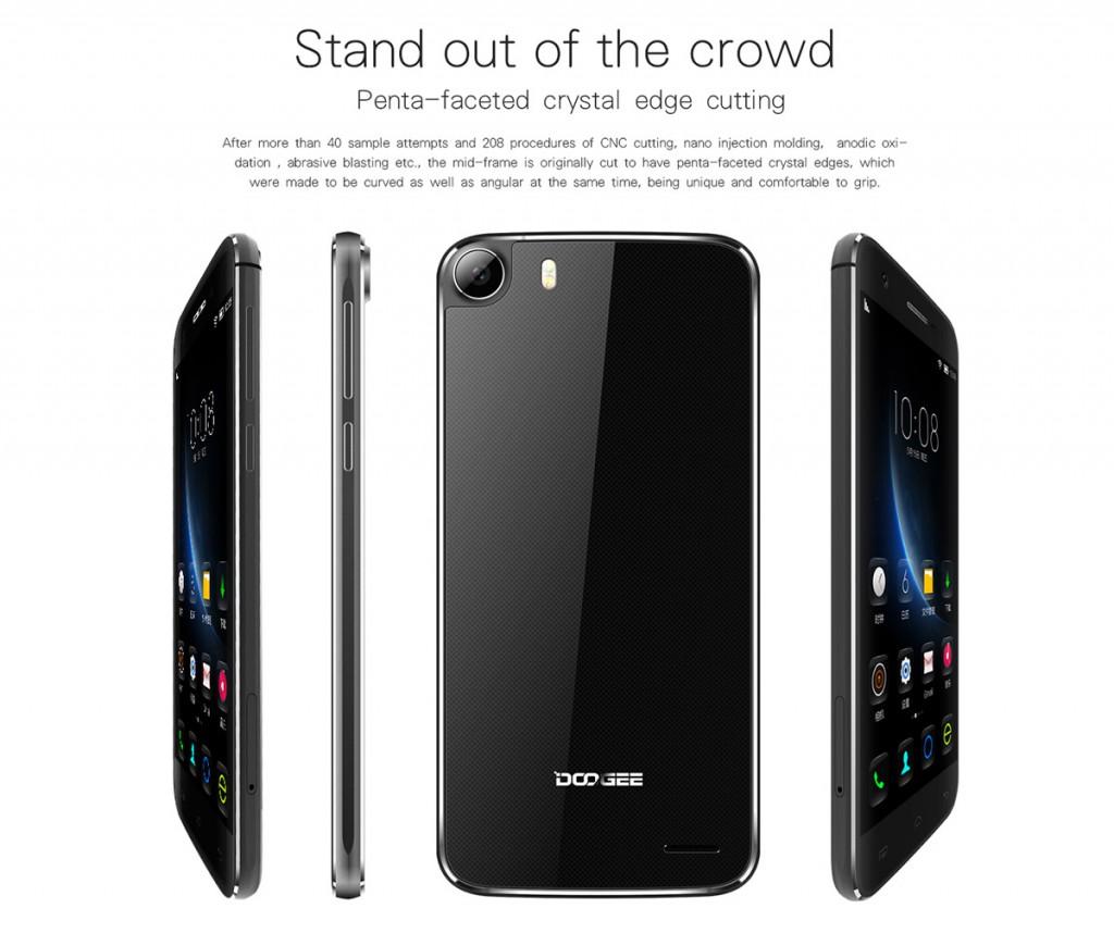 Doogee F3 Pro, un smartphone que llega presumiendo de una construcción muy refinada.