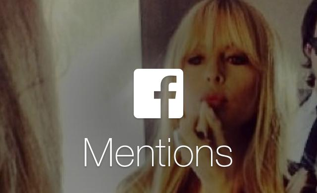 Facebook Mentions 2