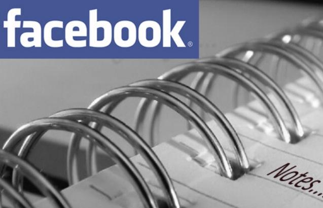 Facebook Notas 2