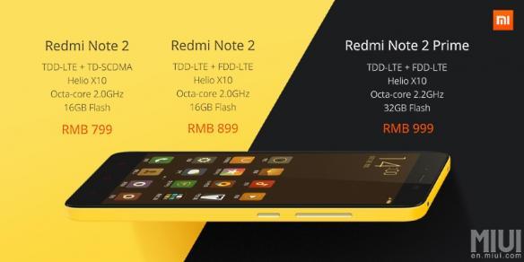 Xaomi Redmi Note 2 _especificaciones.