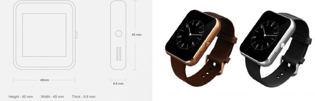 gizlogic-smartwatch-Cubot-R8-dimensión y color-10