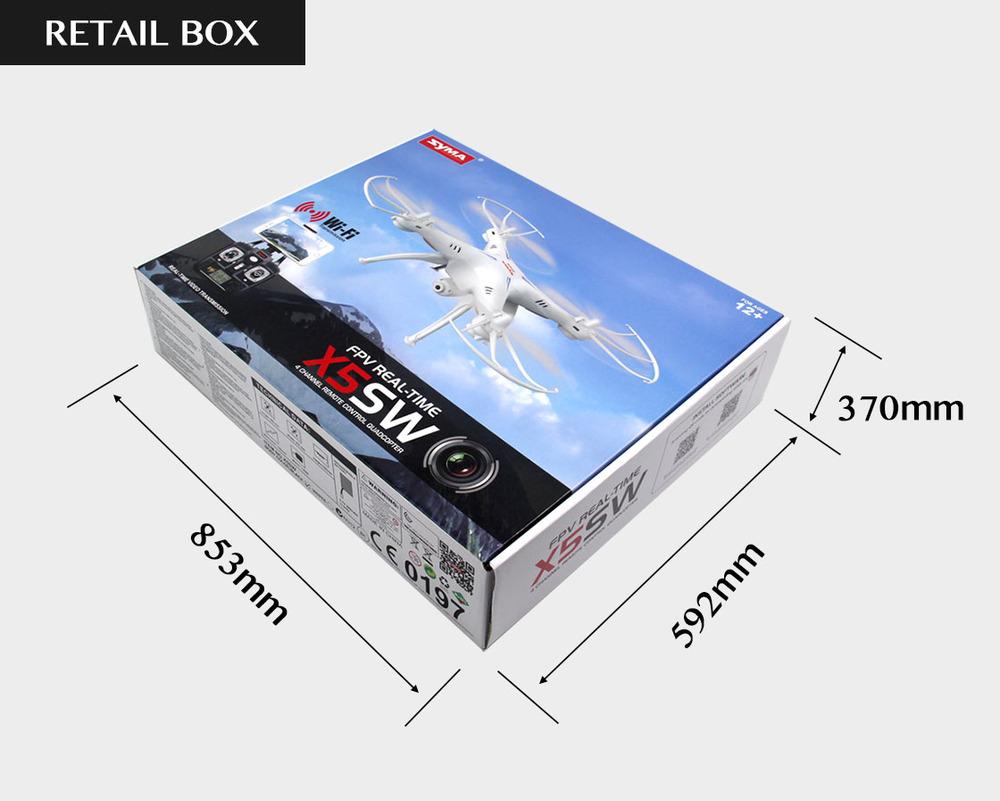 Gizlogic-Syma X5SW-caja