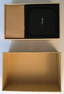 El Wintel CX-W8 viene bien protegido en su embalaje.