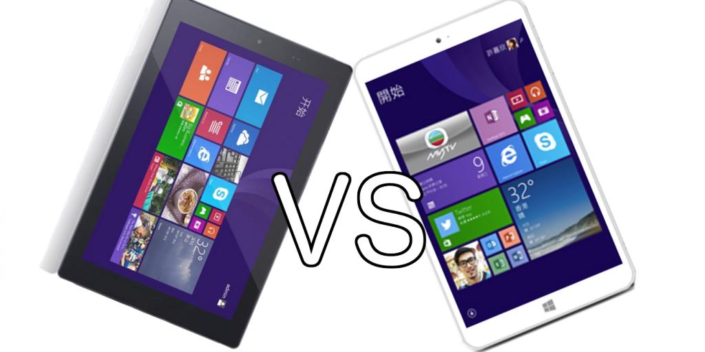 Comparamos dos tablets windows y android de precio ajustado y con mucho en común. La pipo W6S y la Onda v820w.