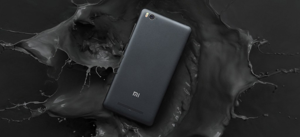 Xiaomi Mi4C negro