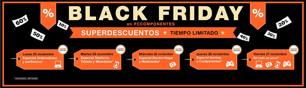 73b4a66f54 Todas las ofertas del Black Friday de PC Componentes